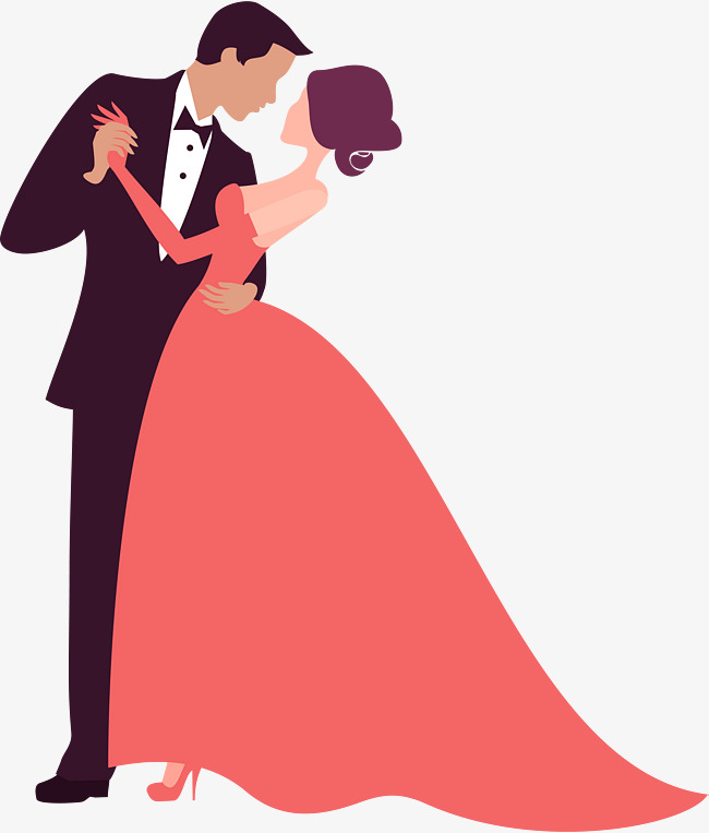 650x763 Couple Dancing Decoration Pattern, Cartoon, Prom, Couple Png Image