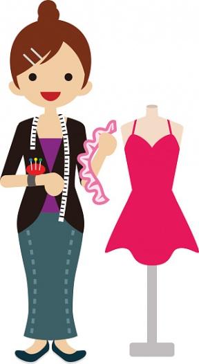 288x526 Designer Dress Cliparts