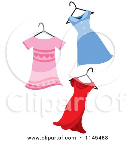 450x470 Royalty Free (Rf) Prom Dress Clipart, Illustrations, Vector