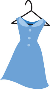 168x300 Clipart Of Dresses