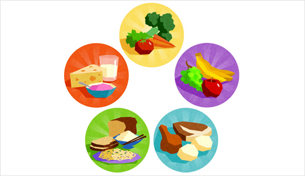 628x363 Healthy Group Cliparts