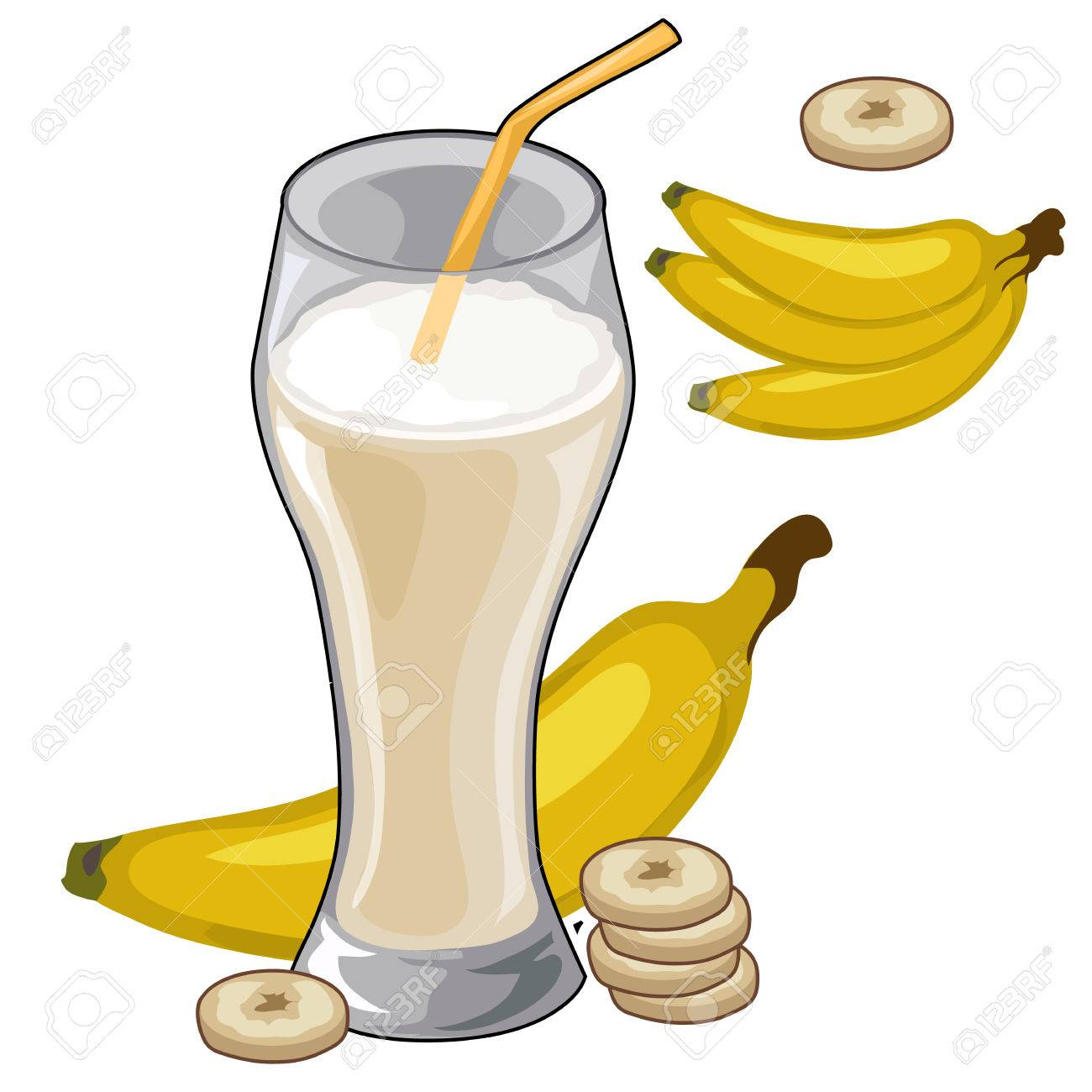1300x1300 How Much Protein And Fat Does A Banana Shake Contain Quora Clipart