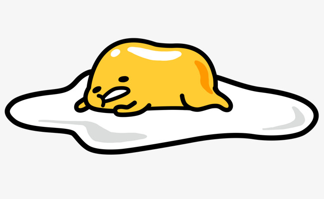650x400 Sleeping Yolk, Yolk, Cartoon, Protein Png Image And Clipart