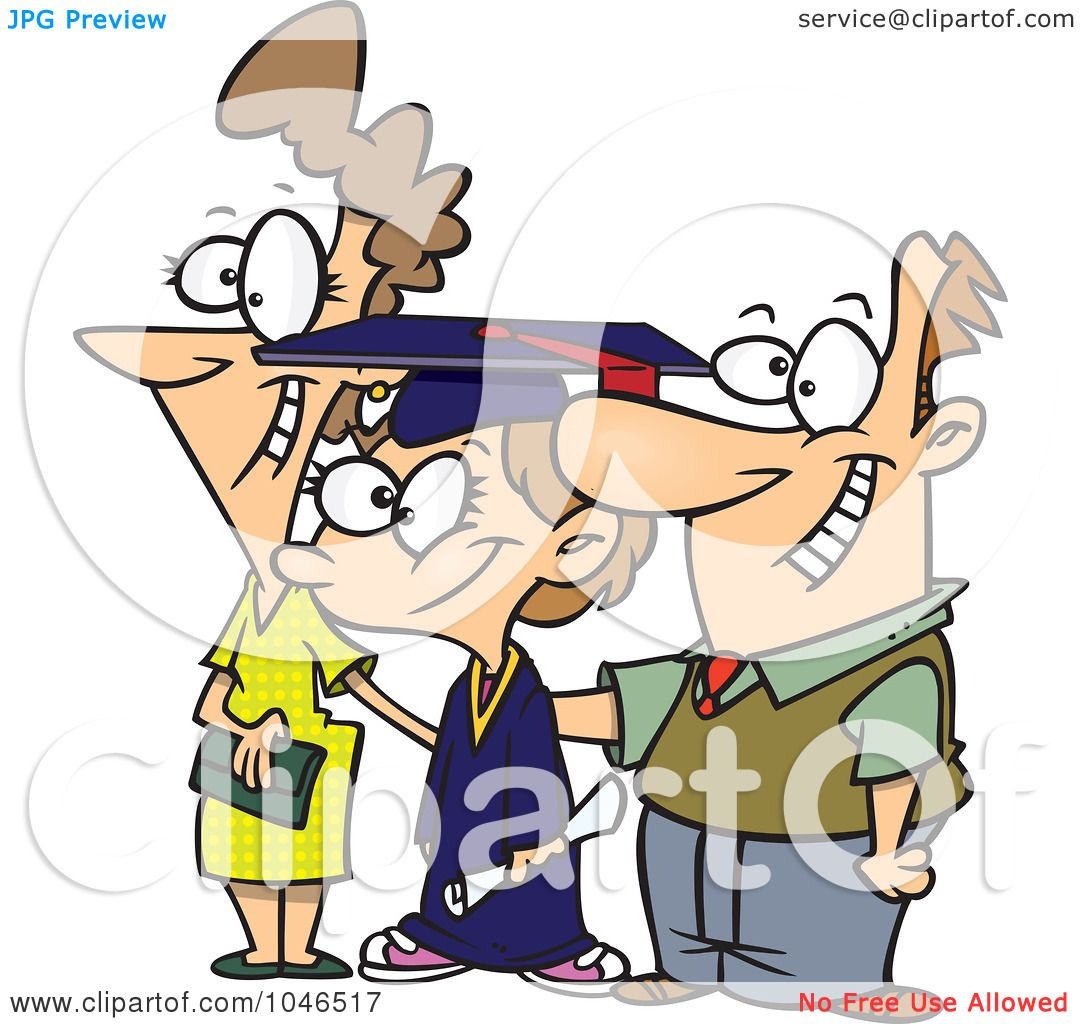 1080x1024 Royalty Free (Rf) Clip Art Illustration Of A Cartoon Proud Mother