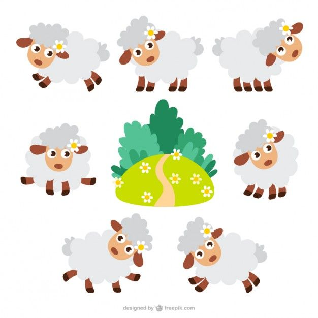 626x626 Desenhos Animados Dos Carneiros Embalar Sheep Cartoon, Decoupage