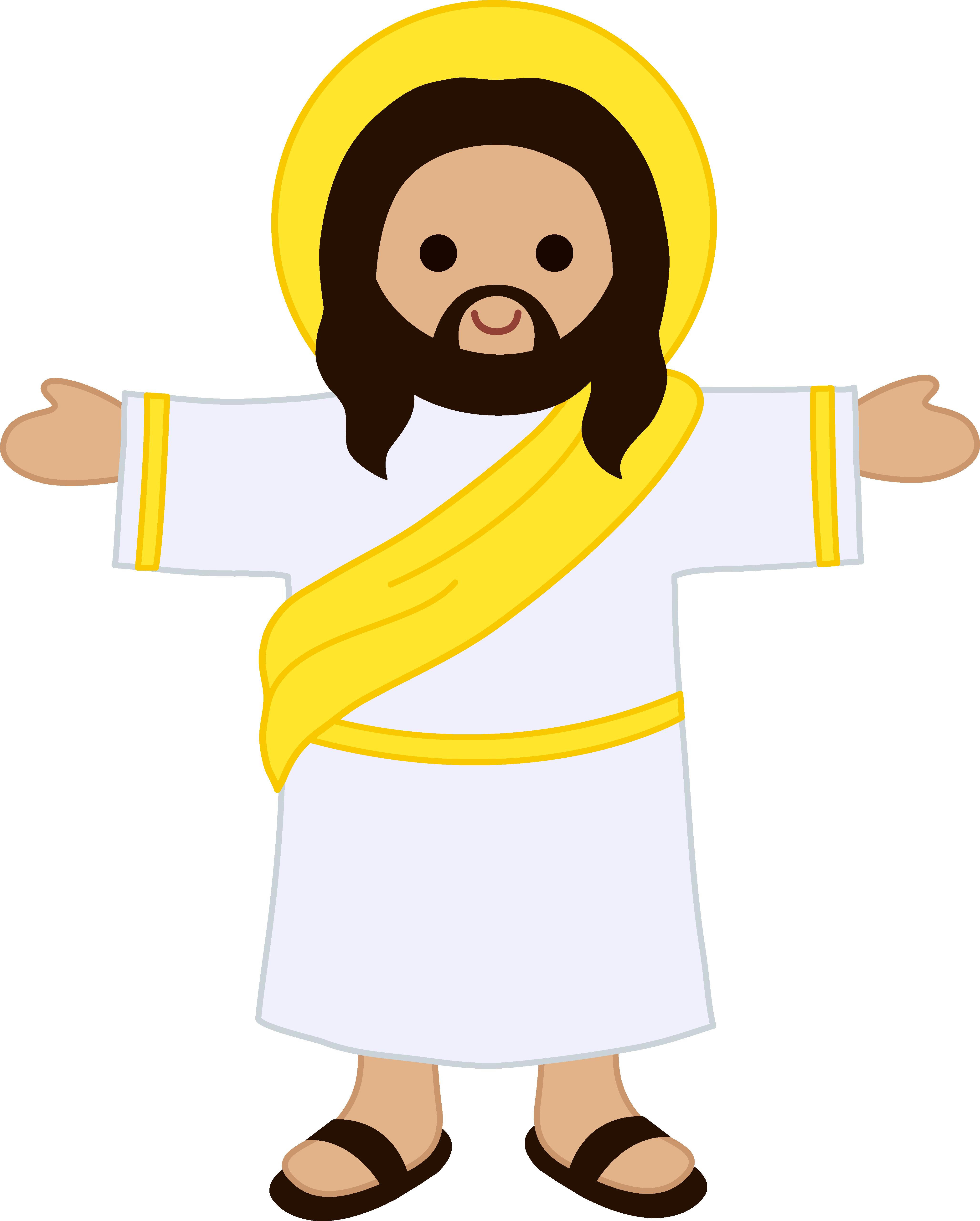4110x5120 Free Christian Clipart Jesus