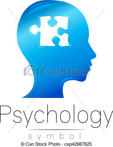 362x470 Modern Head Sign Of Psychology. Puzzle. Profile Human . Vector