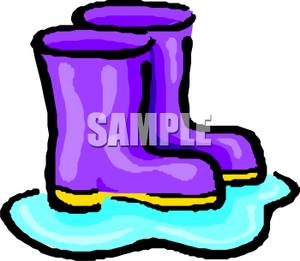 300x261 Purple Boots In A Puddle