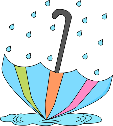 447x500 Umbrella And Rain Clip Art Umbrella In A Rain Puddle Clip Art