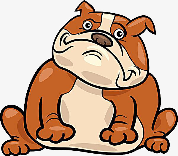 600x528 Cartoon Pug Material, Cartoon, Pugs Material, Frightened Dog Png