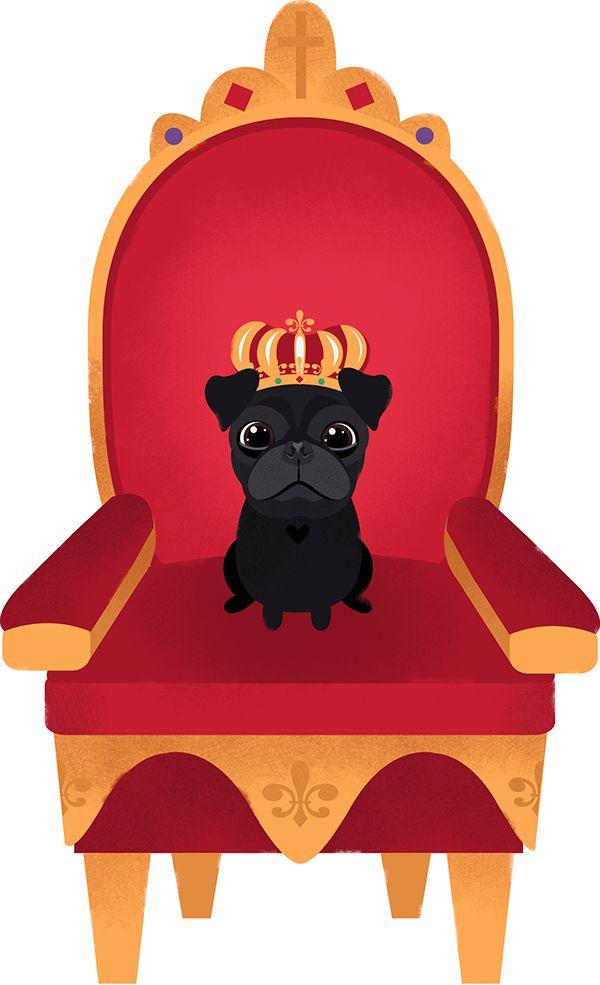 600x985 47 Best Pug Images On Pug Cartoon, Pug Art And Pug Dogs