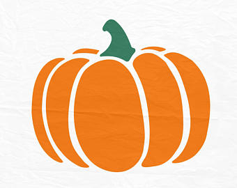 340x270 Pumpkin Svg File Pumpkin Clipart Pumpkin Cut Files Fall
