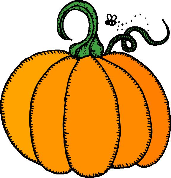 576x600 Pumpkin Clip Art Free Vector 4vector