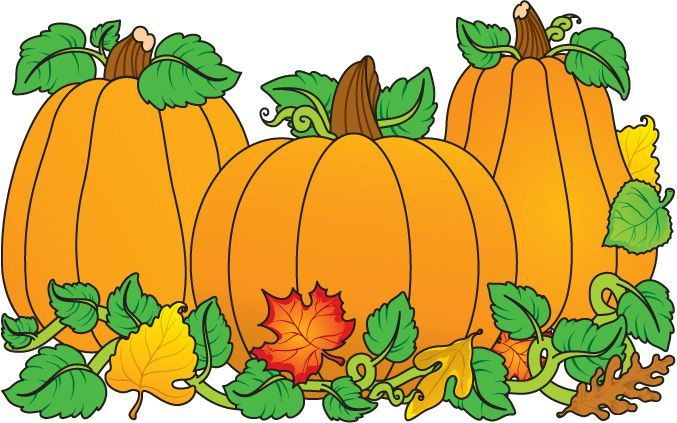 677x423 Free Pumpkin Clip Art Fun For Christmas