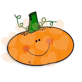 350x350 Happy Pumpkin Clip Art Fun For Christmas
