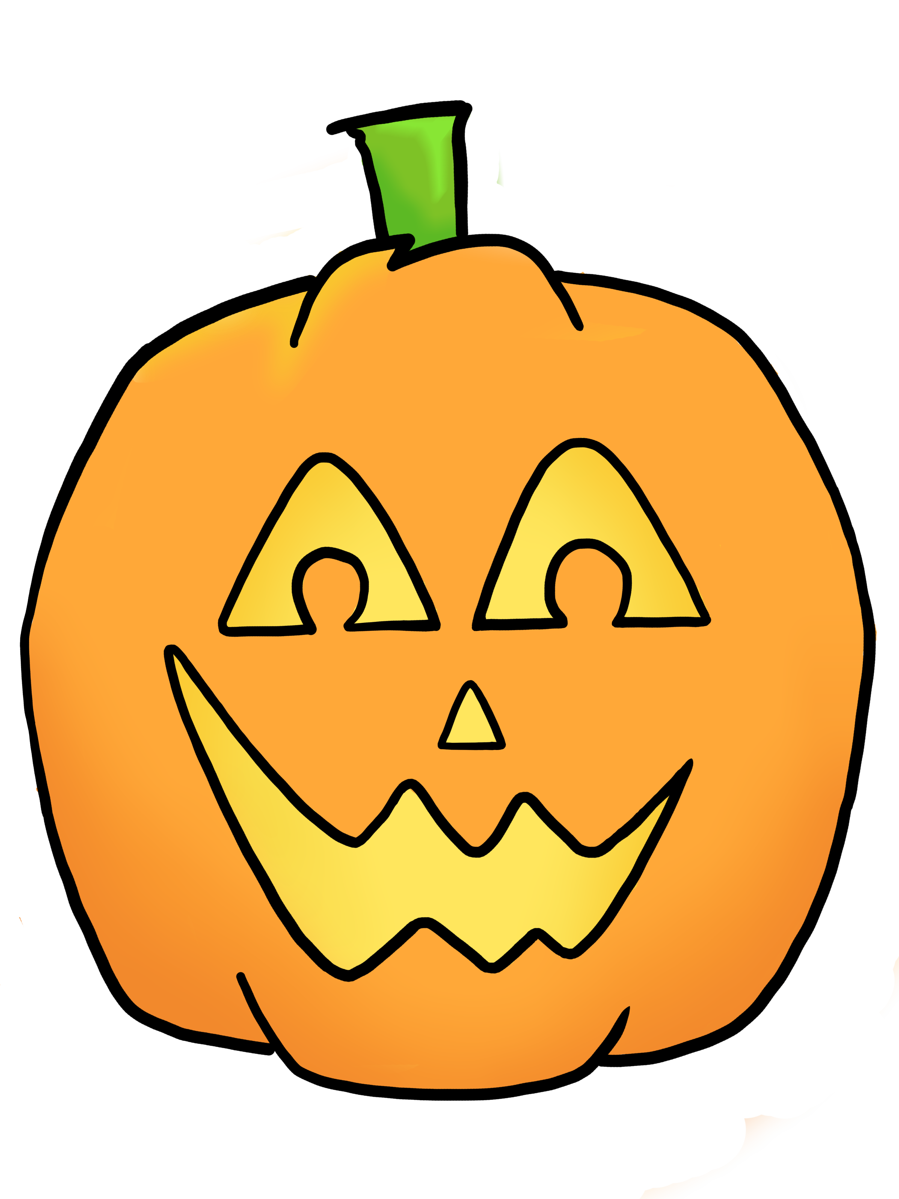 pumpkin face clipart at getdrawings com free for personal use rh getdrawings com Painted Pumpkin Faces Cute Halloween Pumpkin Clip Art
