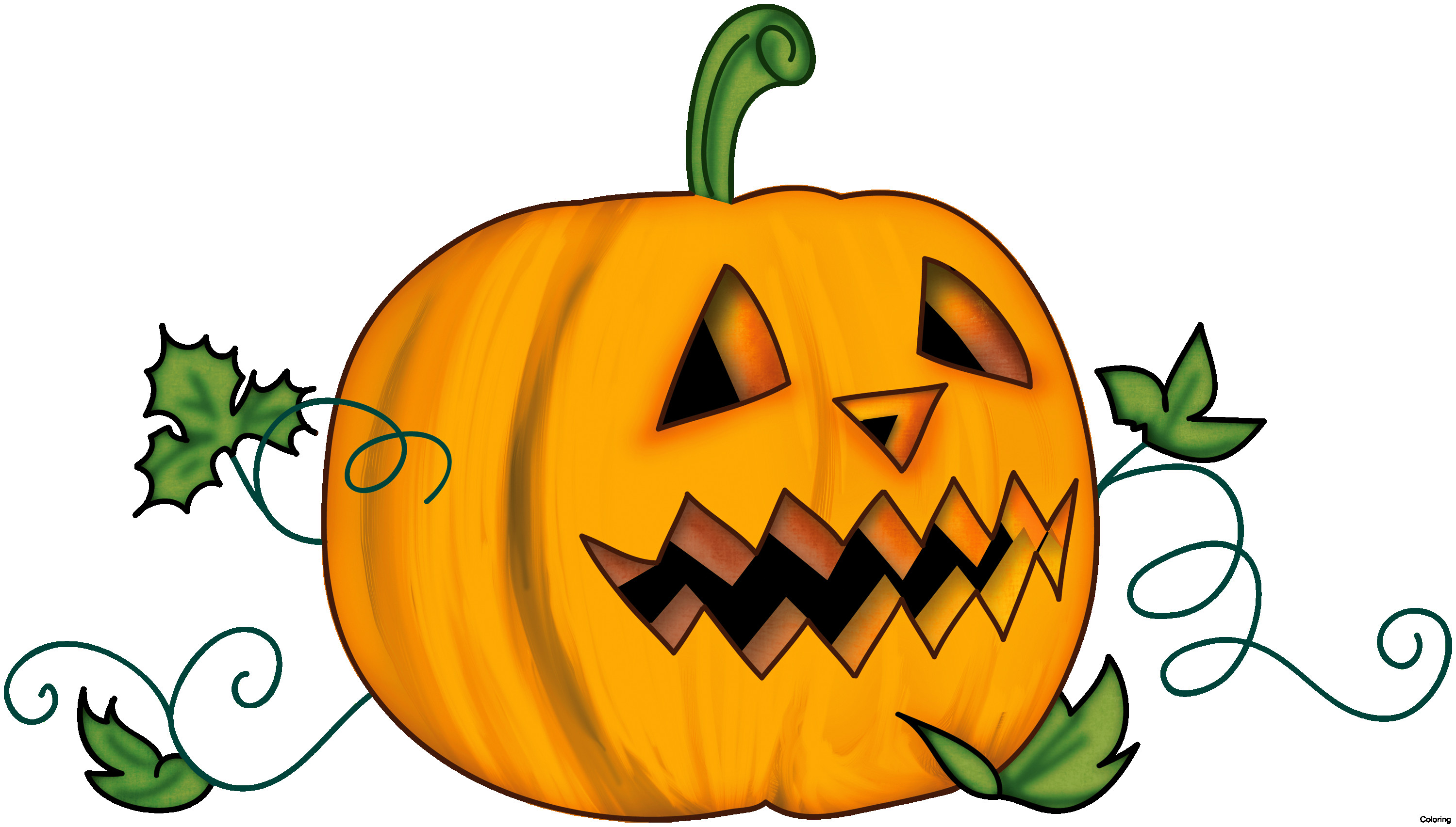 3000x1706 Pumpkin Face Clip Art Black And White Cyberuse Lovely Picture