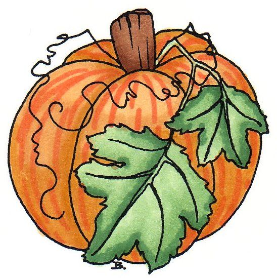 Pumpkin Fall Clipart