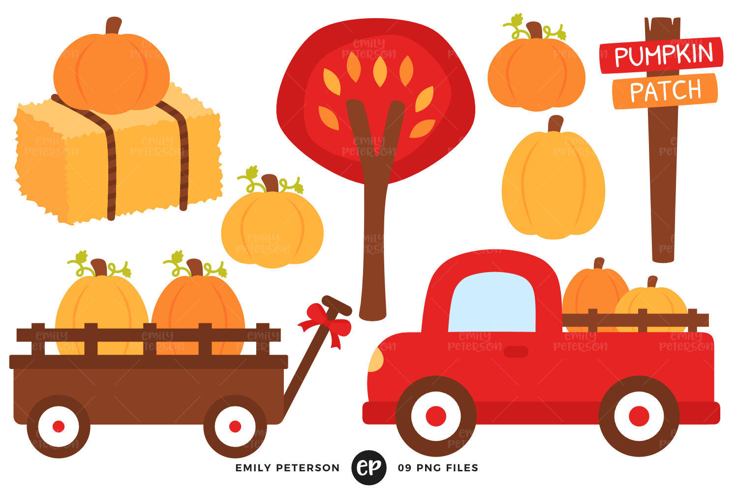 1500x998 Pumpkin Patch Clip Art Fall Clipart Red Truck Clip Art