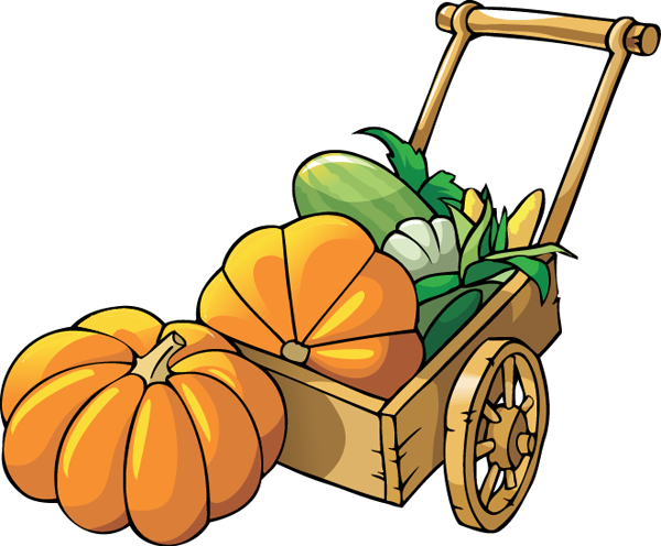 600x496 Pumpkin Patch Clipart