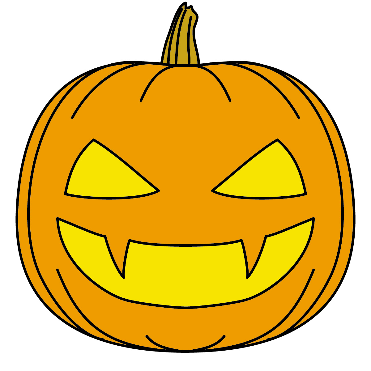 1200x1200 Cream Colored Pumpkin Patch Clipart