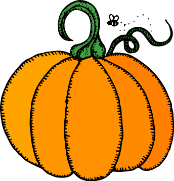 344x358 Cute Pumpkin Patch Clipart Clipart Panda