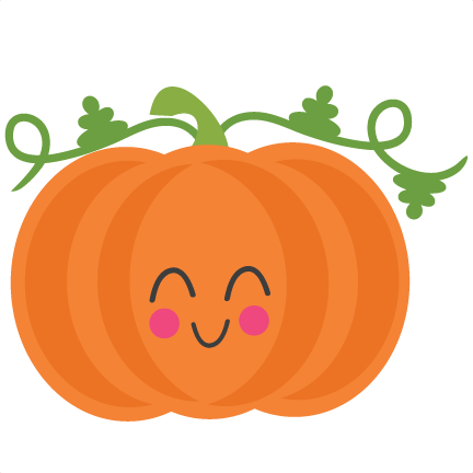 432x432 Cute Pumpkin Clipart Pumpkin Svg Scrapbook Cut File Cute Clipart