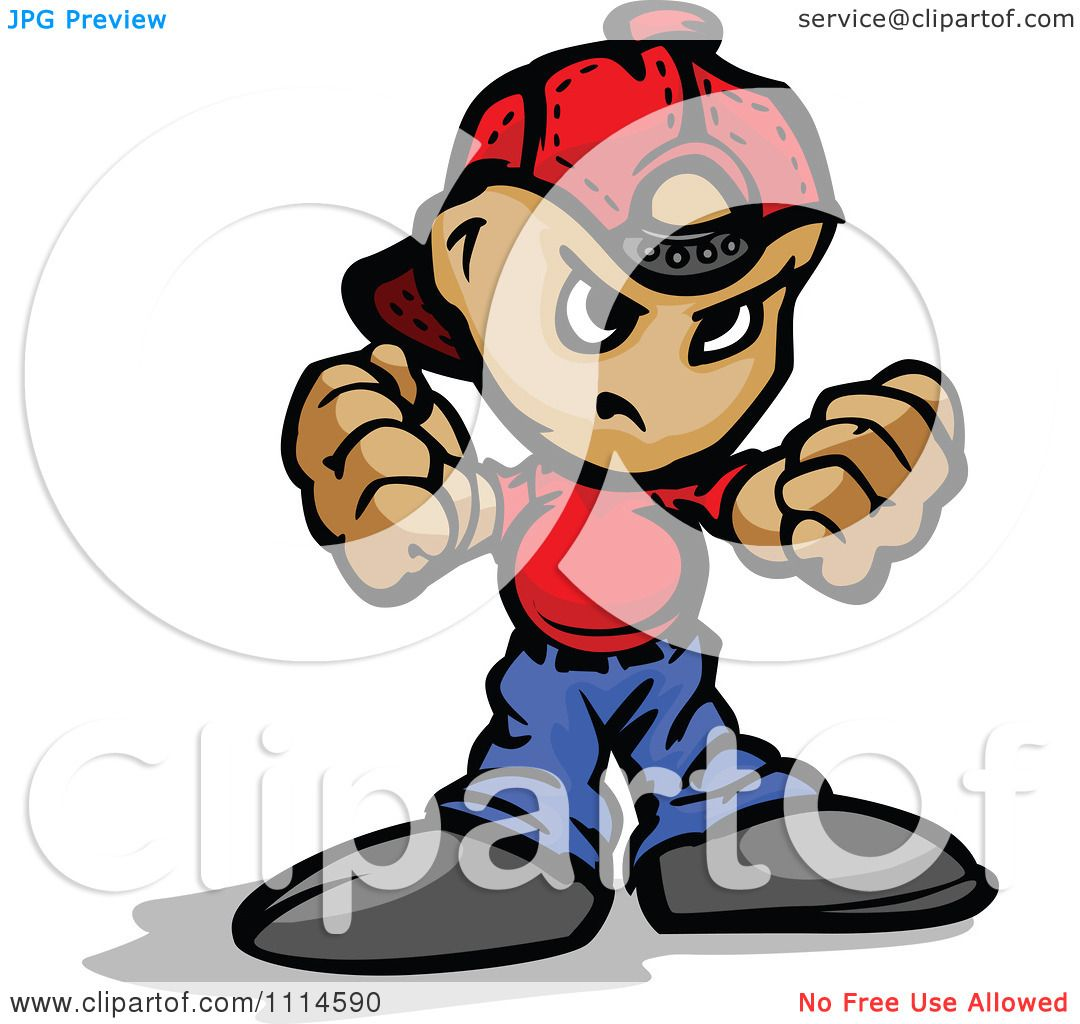 1080x1024 Clipart Tough Punk Kid Holding Up His Fists