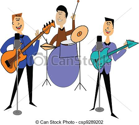 450x406 Rock Band Clipart
