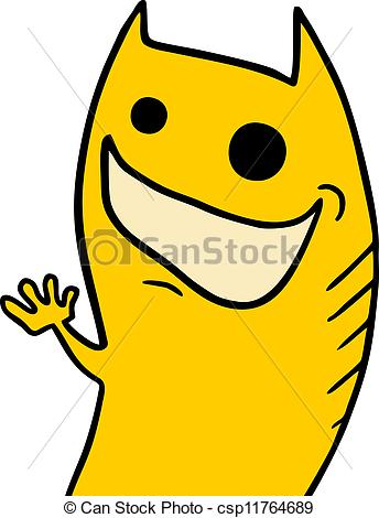 344x470 Creative Design Of Happy Puppet Vector