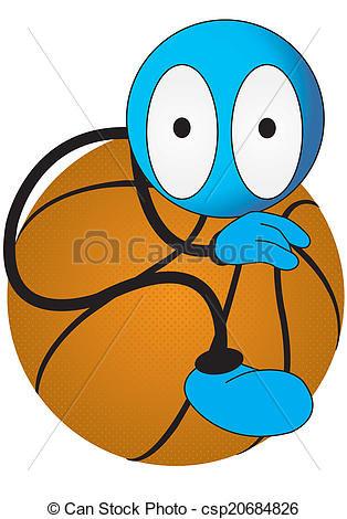 314x470 Puppet Sport On A White Background Clip Art