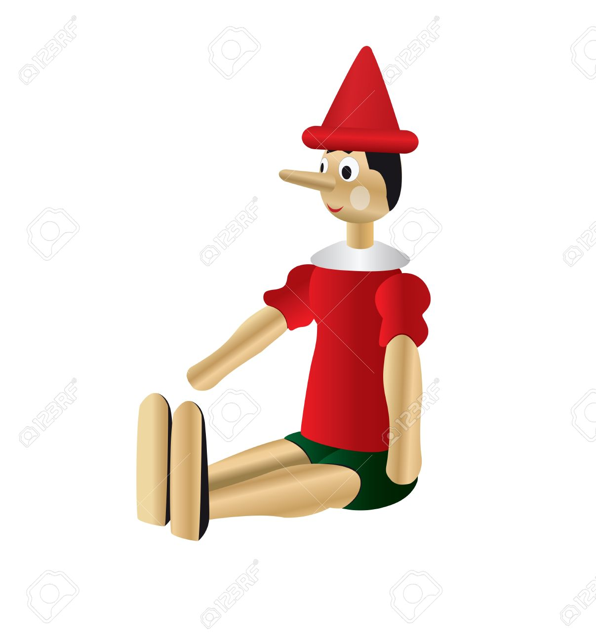 1207x1300 Pinocchio Clipart Puppet