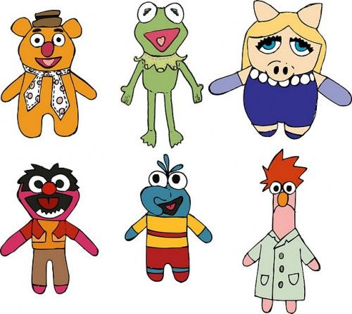 500x447 169 Best Puppets Images On Hand Puppets, Felt Books