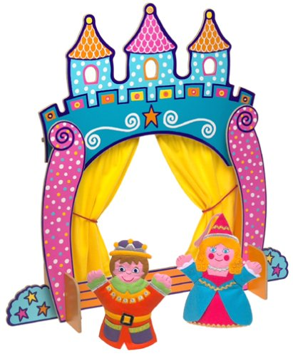 411x500 Alex Toys Castle Tabletop Puppet Theatre With Prince