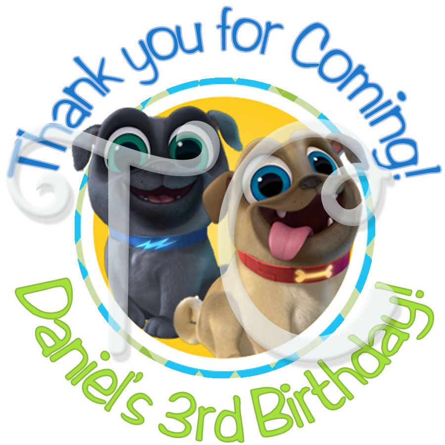 Puppy Dog Pals Clipart