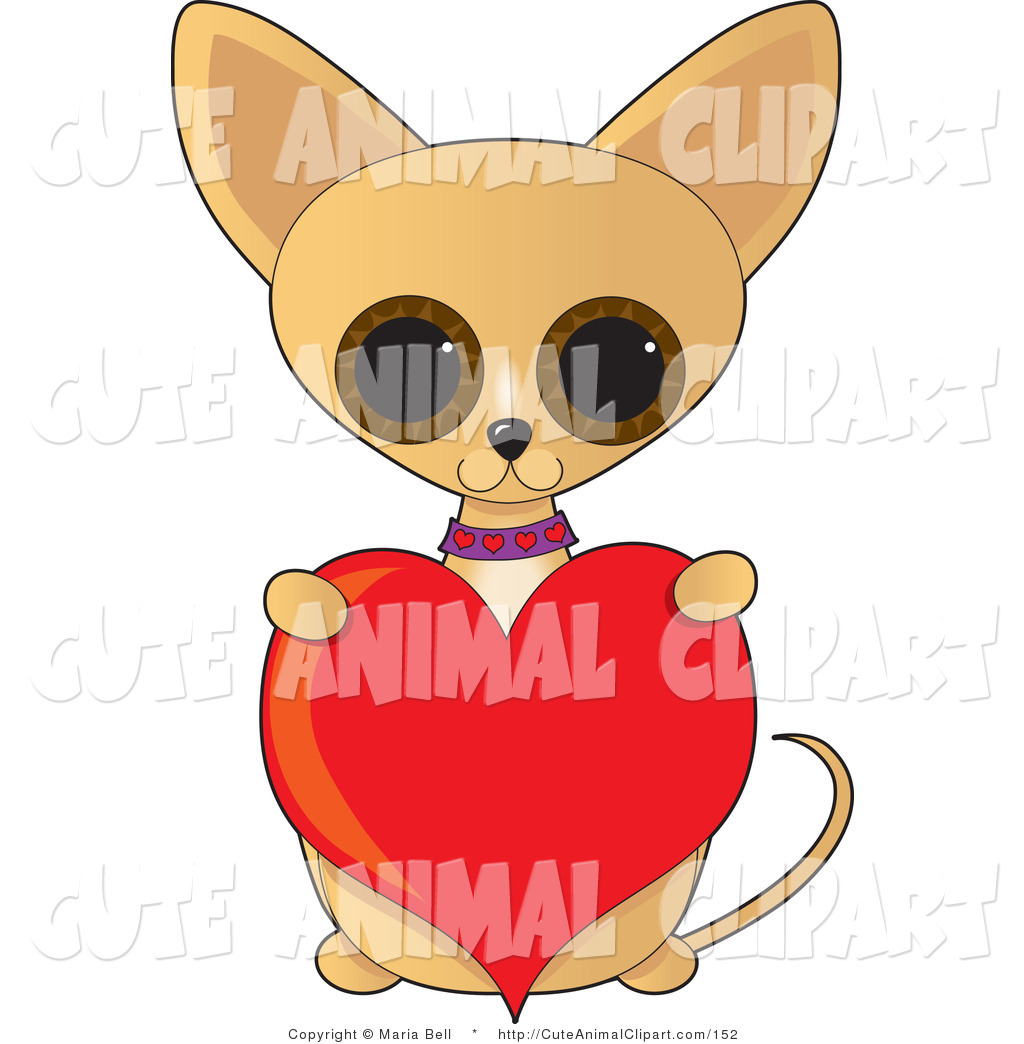 1024x1044 Vector Clip Art Of An Adorable Brown Big Eyed Tan Chihuahua Dog