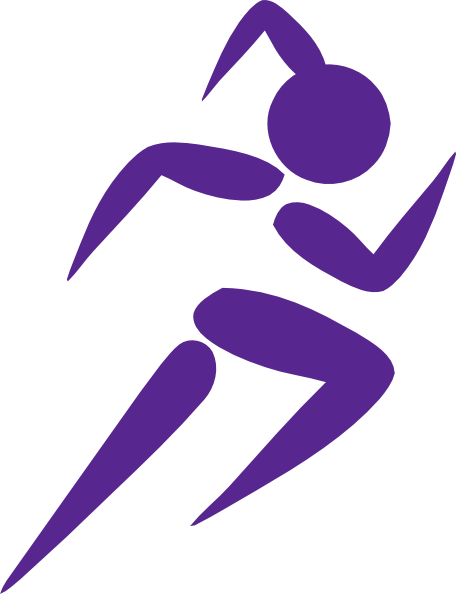 456x594 Free Clip Art Running Woman Girl Running Purple Clip Art Girl