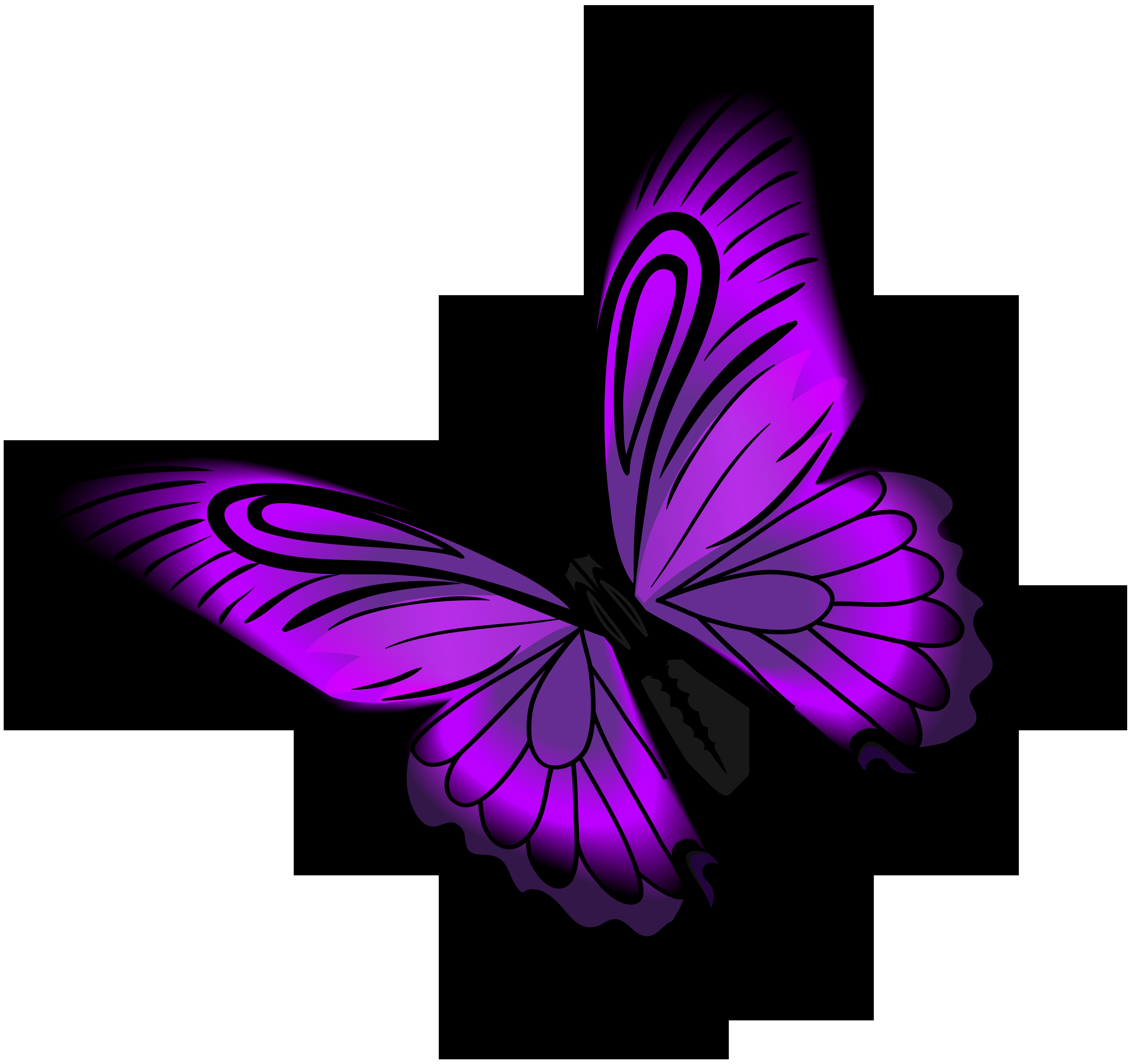 8000x7512 Purple Butterfly Png Clip Artu200b Gallery Yopriceville