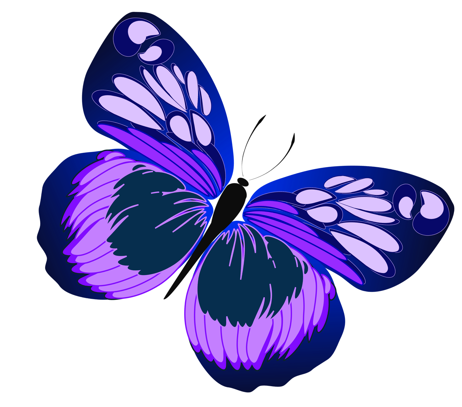 1559x1372 Blue And Purple Butterfly Png Clipartu200b Gallery Yopriceville