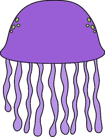 420x550 Purple Jellyfish Clip Art Clipart Panda