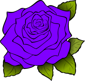 299x285 Purple Rose Clip Art Clipart Collection