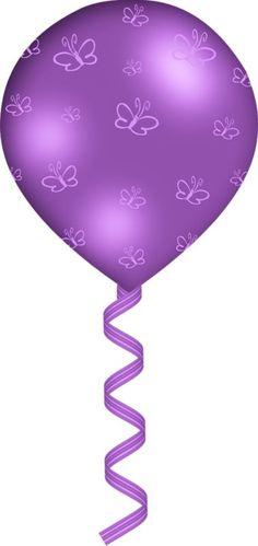 236x499 Single Purple Balloon Png Clipart Image Birthday Clip