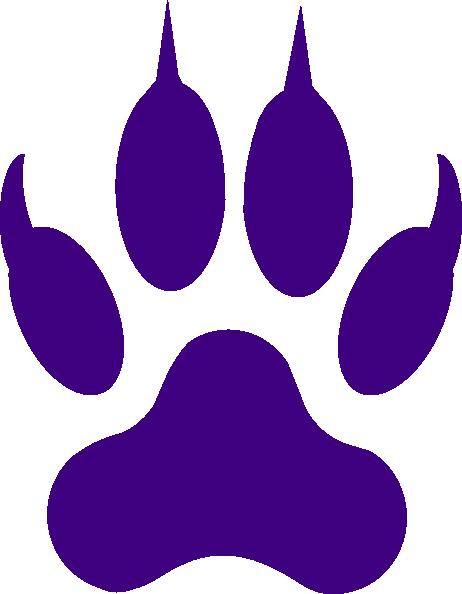 462x594 Purple Tiger Paw Tiger Claw Mark Stencil Tiger Claw Clip Art Ideas
