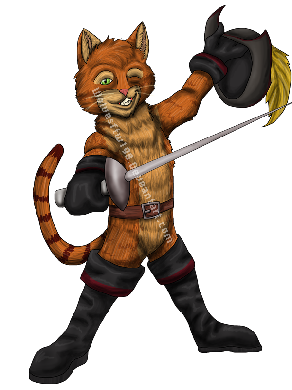 600x800 Puss N Boots By Wolvesftw190