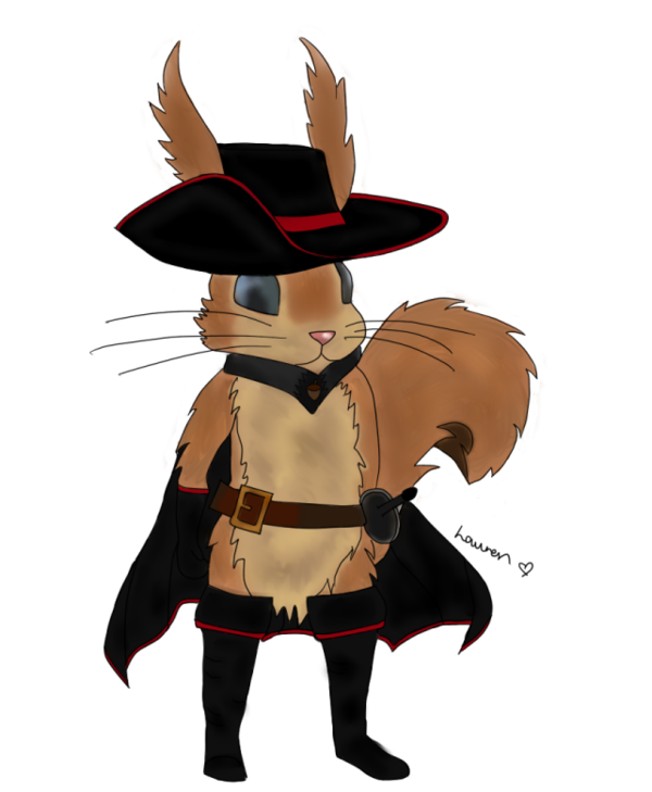 600x729 Ratatoskr Mets Puss In Boots By Roseyxtyeal