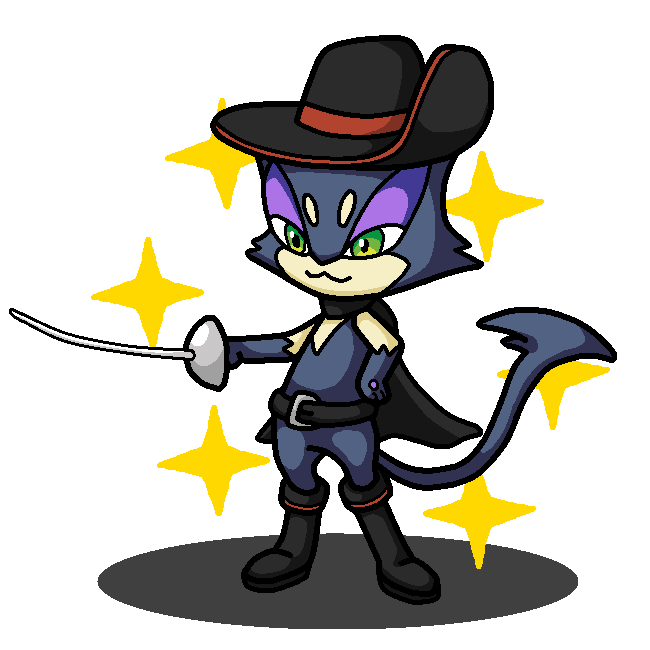 650x650 Shiny Purrloin + Puss In Boots By Shawarmachine