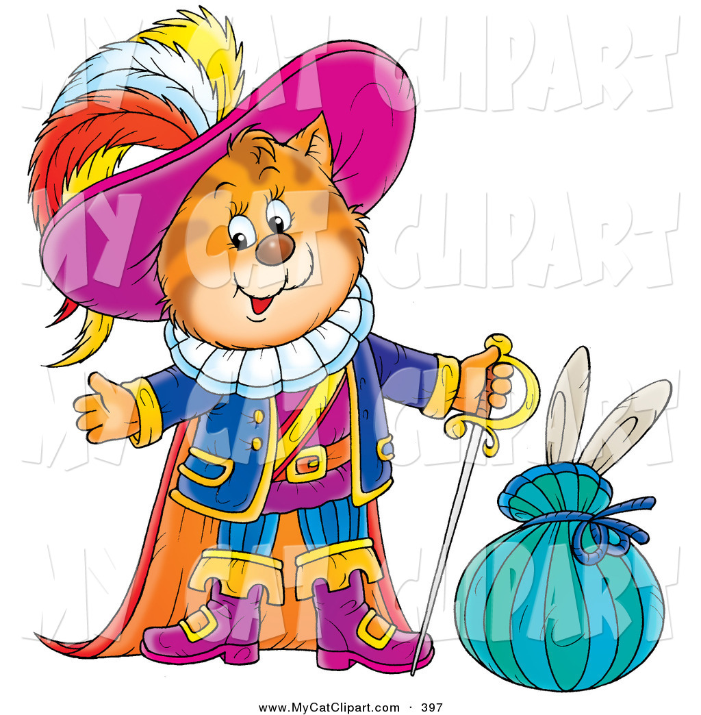 1024x1044 Clip Art Of A Colorfully Dressed Puss In Boots, The Cat, Standing