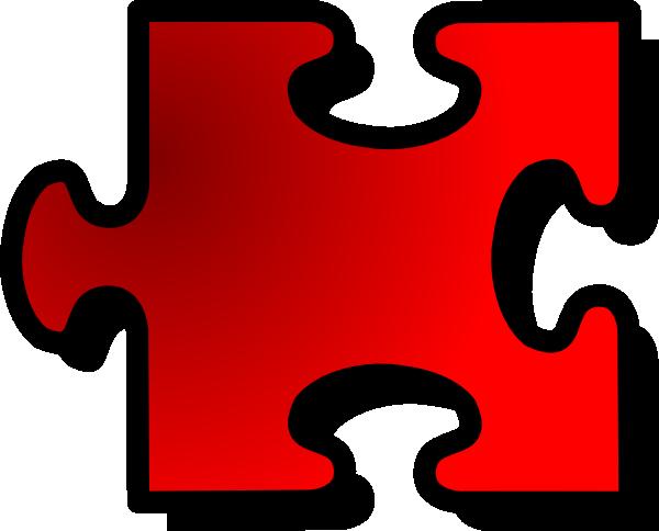 600x484 Jigsaw Puzzle Piece Clip Art Free Vector 4vector