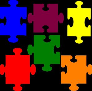 297x294 Jigsaw Puzzle Clip Art