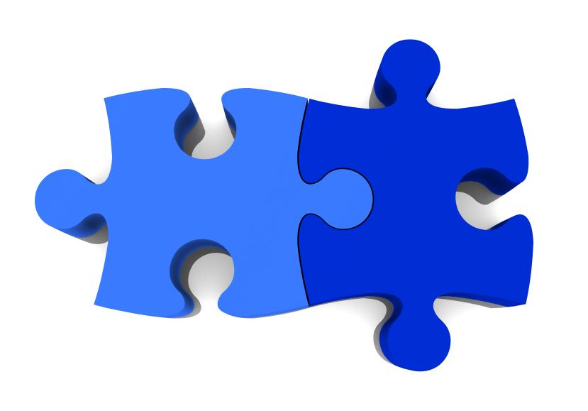829x579 Puzzle Clipart 2 Piece